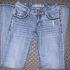 Hydraulic Boot cut/low rise - size 7/8